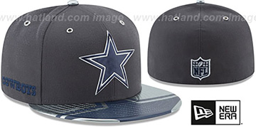 Cowboys '2017 SPOTLIGHT' Charcoal Fitted Hat by New Era