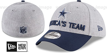 Cowboys 2018 ONSTAGE FLEX Grey-Navy Hat by New Era