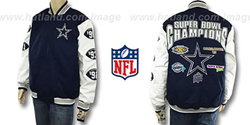 Cowboys '5X CANVAS CHAMPIONS' Jacket