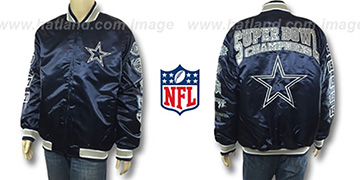 Cowboys '5X SATIN CHAMPIONS' Jacket