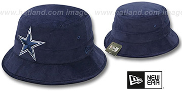 Cowboys 'CODUROY BUCKET' Navy Hat by New Era