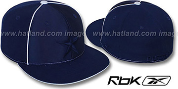 Cowboys 'EXTREME' Navy Fitted Hat by Reebok
