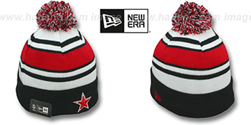 Cowboys 'FIRE-RED' Knit Beanie Hat by New Era