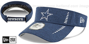Cowboys HEATHERED SPEED-VISOR Navy by New Era