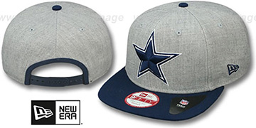 Cowboys 'LOGO-GRAND SNAPBACK' Grey-Navy Hat by New Era