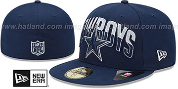 Cowboys 'NFL 2013 DRAFT' Navy 59FIFTY Fitted Hat by New Era
