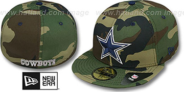 Cowboys 'NFL ARMY CAMO' Fitted Hat by New Era