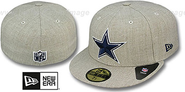 Cowboys STREAMLINER Oatmeal Fitted Hat by New Era