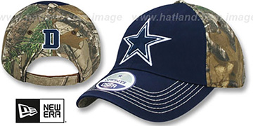 Cowboys 'THE BIG GAME REALTREE' Strapback Hat