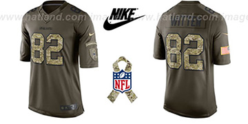 Cowboys 'WITTEN SALUTE TO SERVICE' Jersey by Nike