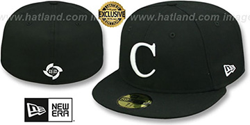 Cuba PERFORMANCE WBC Black-White Hat by New Era