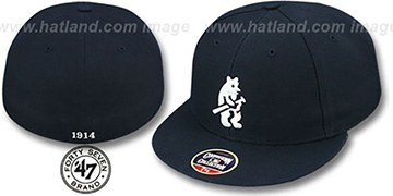 Cubs '1914 COOPERSTOWN ' Fitted Hat by Twins 47 Brand