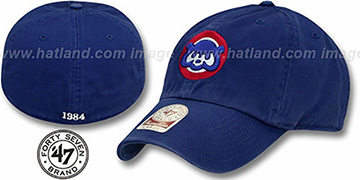 Cubs 1984 COOP 'MLB FRANCHISE' Royal Hat by 47 Brand
