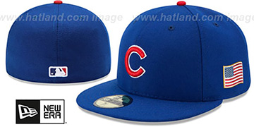 Cubs '2015 STARS-N-STRIPES 911 GAME' Hat by New Era