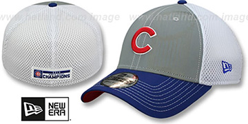 Cubs 2016 WORLD SERIES CHAMPS REFLECTIVE Flex Hat by New Era