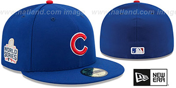 Cubs '2016 WORLD SERIES GAME' Hat by New Era