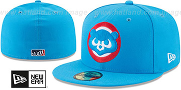 Cubs '2017 MLB LITTLE-LEAGUE' Blue Fitted Hat by New Era
