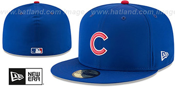 Cubs '2018 PROLIGHT-BP' ALTERNATE Royal Fitted Hat by New Era