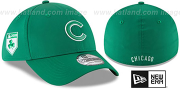 Cubs 2018 ST PATRICKS DAY FLEX Hat by New Era