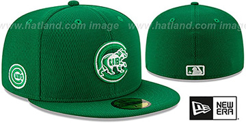 Cubs 2020 ST PATRICKS DAY Fitted Hat by New Era
