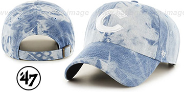 Cubs 'ACID WASH STRAPBACK' Hat by Twins 47 Brand