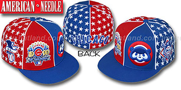 Cubs 'ALL STAR HOLLYWOOD' Red-Royal Fitted Hat