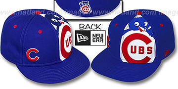 Cubs COOP 'MASCOT-ZOOM' Royal Fitted Hat by New Era