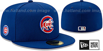 Cubs DASHMARK BP Royal Fitted Hat by New Era