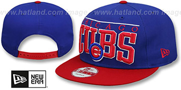 Cubs 'LE-ARCH SNAPBACK' Royal-Red Hat by New Era