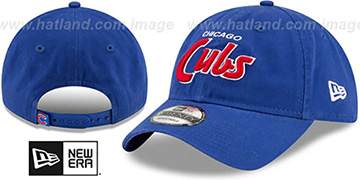 Cubs RETRO-SCRIPT SNAPBACK Royal Hat by New Era