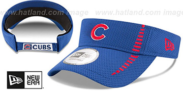 Cubs 'SPEED-VISOR' Royal by New Era