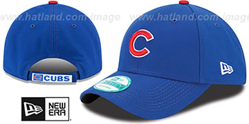 Cubs THE-LEAGUE GAME STRAPBACK Royal Hat by New Era