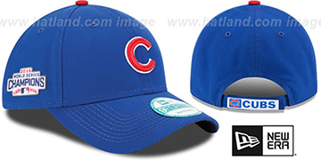 Cubs THE-LEAGUE 2016 WORLD SERIES CHAMPS STRAPBACK Hat by New Era