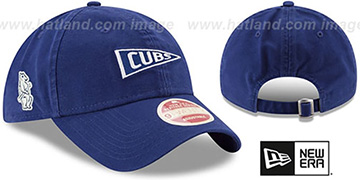 Cubs 'VINTAGE PENNANT STRAPBACK' Royal Hat by New Era