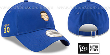 Curry PRIMARY PLAYER STRAPBACK Royal Hat by New Era