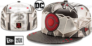 Cyborg CHARACTER JUSTICE LEAGUE Fitted Hat by New Era