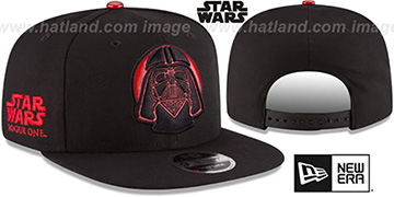 Darth Vader 'HERO-FOIL SNAPBACK' Black Hat by New Era