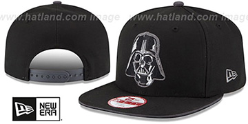Darth Vader 'HERO SANDWICH SNAPBACK' Black Hat by New Era