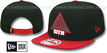 Darth Vader 'TRIFECT SNAPBACK' Black-Red Hat by New Era