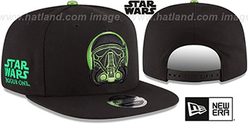Death Trooper 'HERO-FOIL SNAPBACK' Black Hat by New Era
