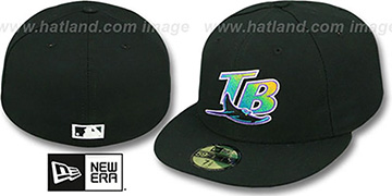Devil Rays '2000 COOP GAME' Fitted Hat by New Era