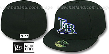 Devil Rays '2004 COOP GAME' Fitted Hat by New Era