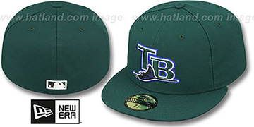 Devil Rays '2007 COOP GAME' Fitted Hat by New Era