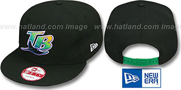 Devil Rays COOP 'TEAM-BASIC SNAPBACK' Black Hat by New Era