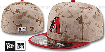 Diamondbacks '2014 STARS N STRIPES' Fitted Hat by New Era