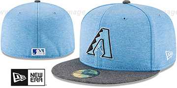 Diamondbacks '2017 FATHERS DAY' Fitted Hat by New Era
