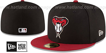 Diamondbacks '2017 ONFIELD ALTERNATE-2' Hat by New Era