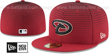 Diamondbacks '2017 ONFIELD ALTERNATE-3' Hat by New Era