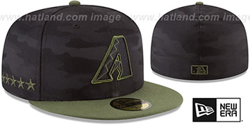 Diamondbacks 2018 MEMORIAL DAY STARS N STRIPES Hat by New Era
