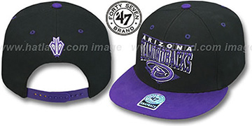 Diamondbacks '2T HOLDEN SNAPBACK' Adjustable Hat by Twins 47 Brand